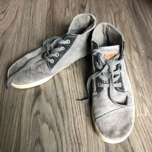 Toms lace up ankle boots sneakers